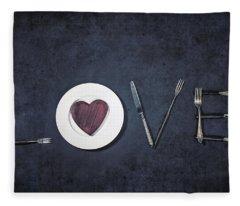 Cooking With Love Fleece Blanket
