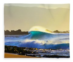 Cool Curl Fleece Blanket