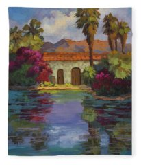 Cool Waters 2 Fleece Blanket