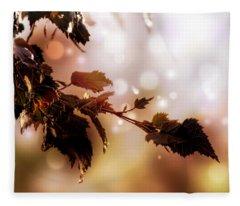 Copper Birch Fleece Blanket
