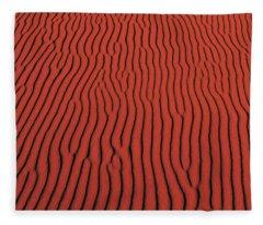 Coral Pink Sand Dunes State Park Ut Usa Fleece Blanket