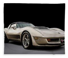 Corvette C3 Fleece Blanket