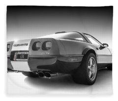 Corvette C4 Fleece Blanket