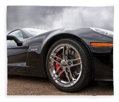 Corvette Z06 Fleece Blanket