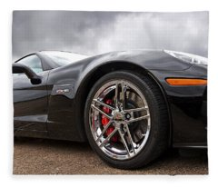 Corvette Z06 Fleece Blanket