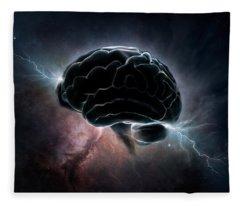 Cosmic Intelligence Fleece Blanket