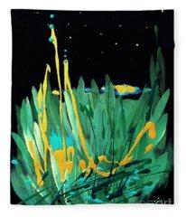 Cosmic Island Fleece Blanket