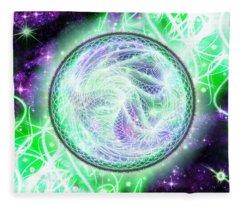 Cosmic Lifestream Fleece Blanket