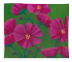 Cosmos Fleece Blanket