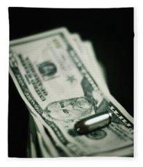 Cost Of One Bullet Fleece Blanket