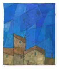 Cote D Azur II Fleece Blanket