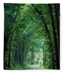 Country Lane Fleece Blanket