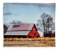Country Pride Fleece Blanket