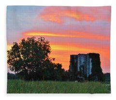 Country Sky Fleece Blanket