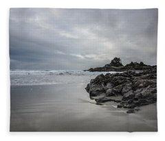 Cox Bay Afternoon  Fleece Blanket