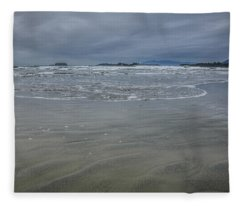 Cox Bay Late Afternoon  Fleece Blanket