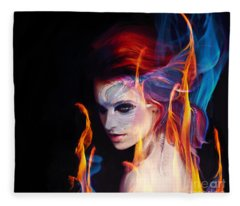 Creation Fire And Flow Fleece Blanket