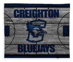 Creighton Bluejays Fleece Blanket