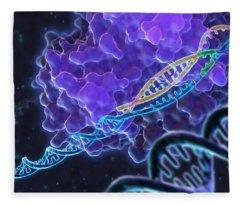 Crispr Genome Editing, Illustration Fleece Blanket