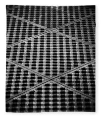 Criss Cross Fleece Blanket