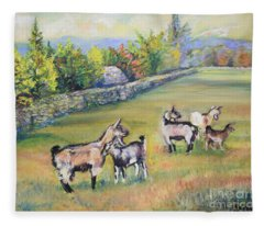 Croatian Goats Fleece Blanket