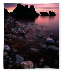 Cromarty Sunrise Fleece Blanket