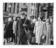 Crossing Manhattan Fleece Blanket