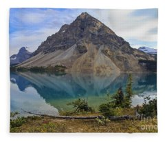 Crowfoot Mountain Banff Np Fleece Blanket
