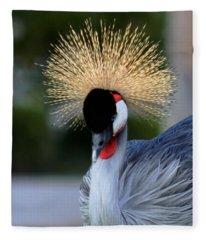 Crowned Fleece Blanket