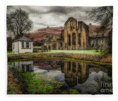Crucis Abbey Fleece Blanket