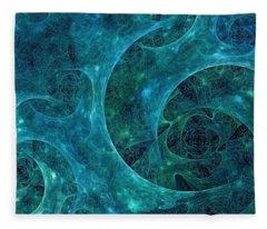 Crystal Nebula-ii Fleece Blanket
