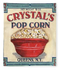 Crystal's Popcorn Fleece Blanket