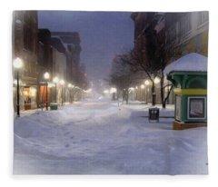 Cumberland Winter Fleece Blanket