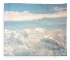 Cumulus Clouds Fleece Blanket