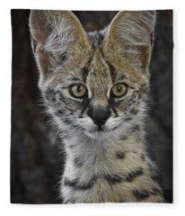 Cute As A Button Fleece Blanket
