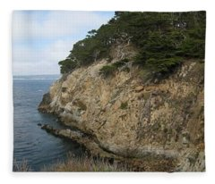 Cypress Cove Panorama Fleece Blanket