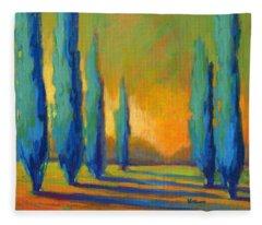 Cypress Road 5 Fleece Blanket