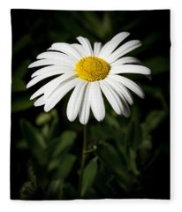 Daisy In The Garden Fleece Blanket