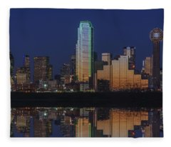 Dallas Aglow Fleece Blanket
