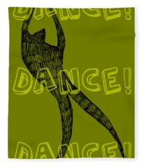 Dance Dance Dance Fleece Blanket