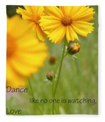 Dance Love Work 200509 Fleece Blanket