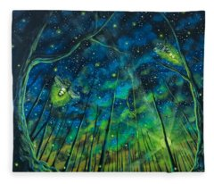 Dance The Night Away Fleece Blanket