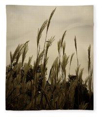 Dancing Grass Fleece Blanket