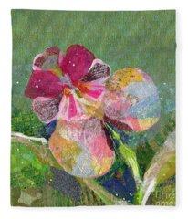 Dancing Orchid IIi Fleece Blanket