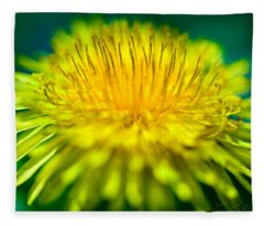 Dandelion Bloom  Fleece Blanket