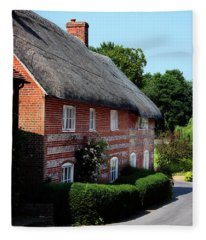Dane Cottage Nether Wallop Fleece Blanket