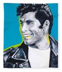 Danny Loves Sandy Fleece Blanket