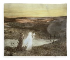 Dante And Beatrice, From Lestampe Fleece Blanket