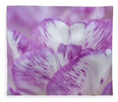 Dappled Tulip. The Tulips Of Holland Fleece Blanket