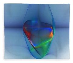 Dark Matter And Gravity Waves Revealed Fleece Blanket